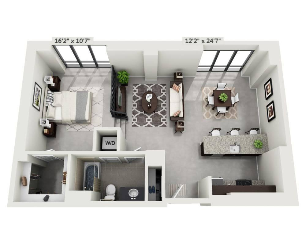 $2134 One bedroom Apartment for rent