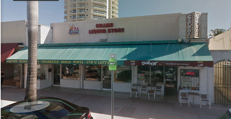 Storefront for lease in Miami Beach on Collins Ave-5% commission to brokers