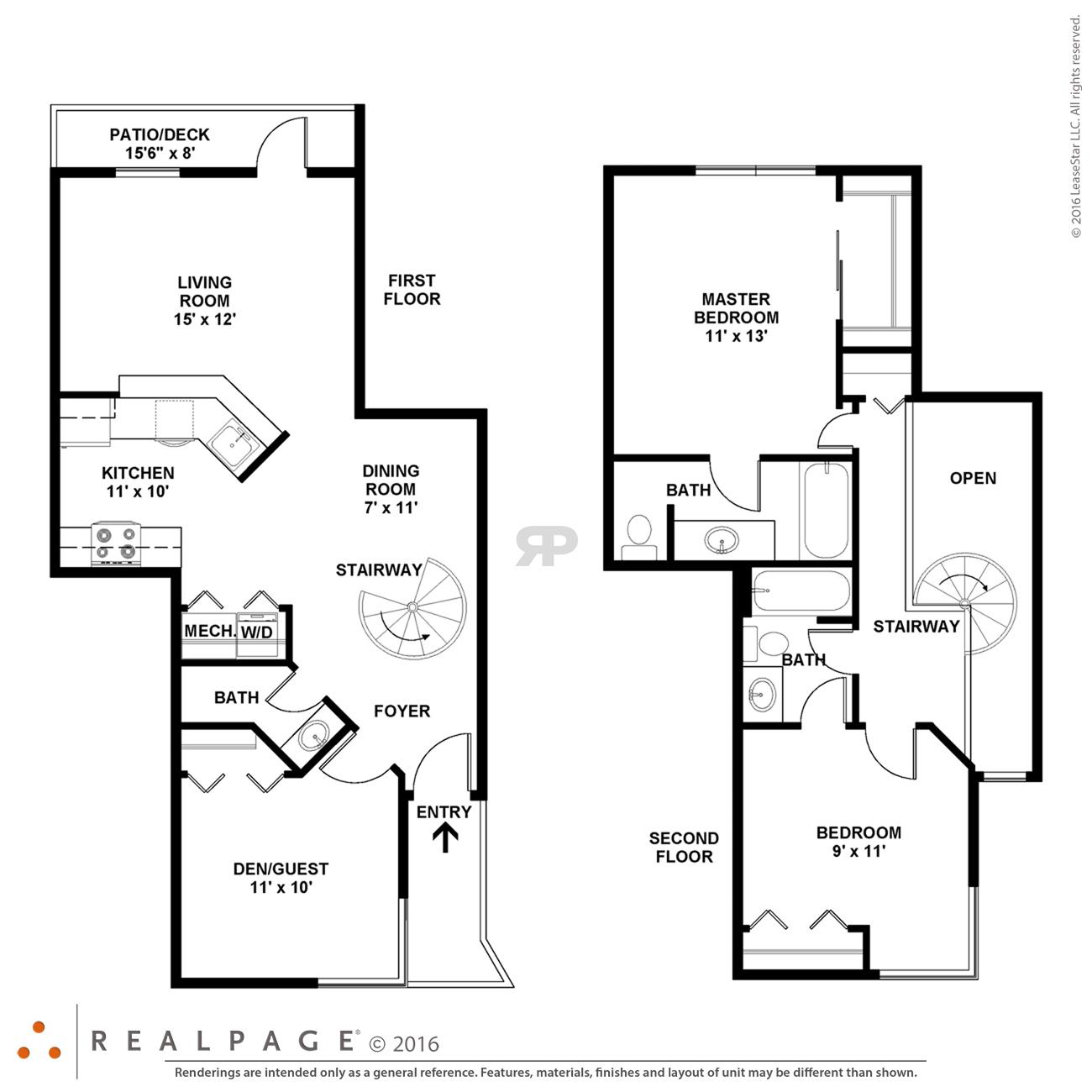 $1722 Three bedroom Apartment for rent