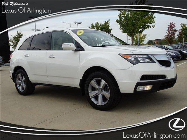 Acura MDX Tech/Entertainment Pkg 2012