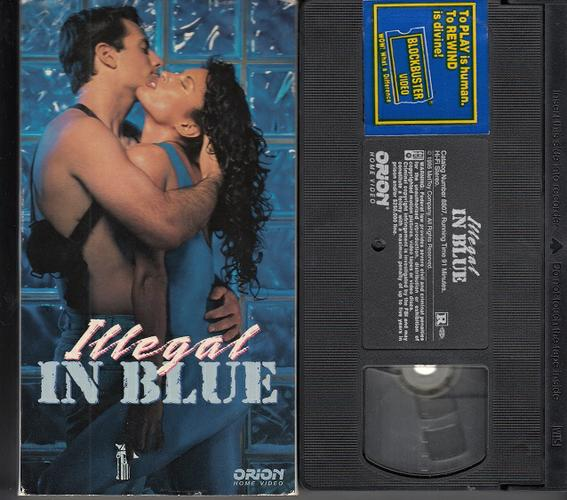 STACEY DASH ~ Illegal In Blue* VHS Movie !