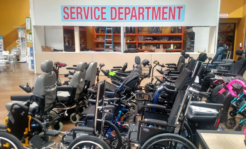 Active Mobility Inc. New Service Department NOW OPEN