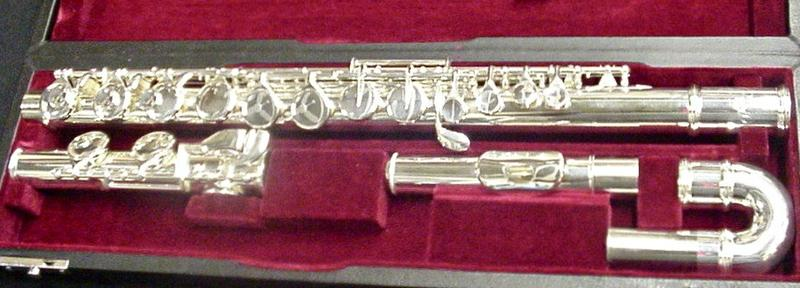 New Gemeinhardt 11AC Alto Flute  MSRP: $2,599.00  Curved Head W/case  New Gemeinhardt  model # 11AC