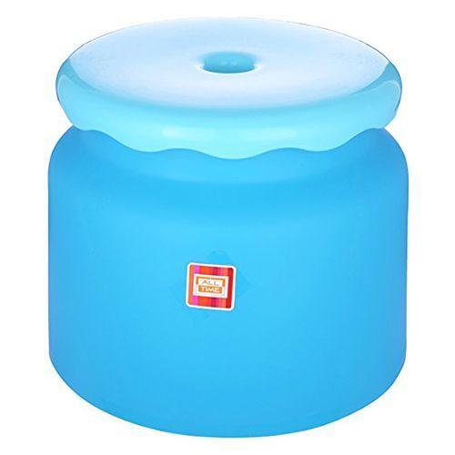Frosty Bathroom Stool - Blue, 1 pc