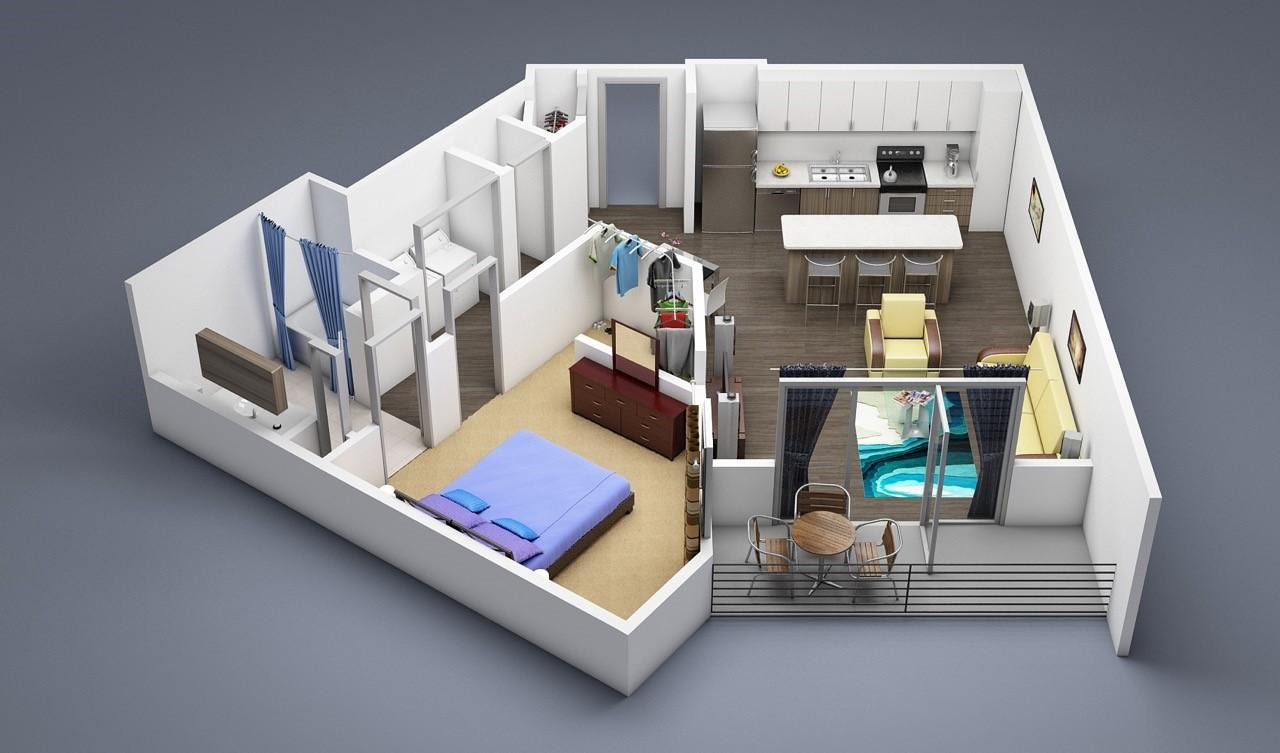 $1623 One bedroom Apartment for rent