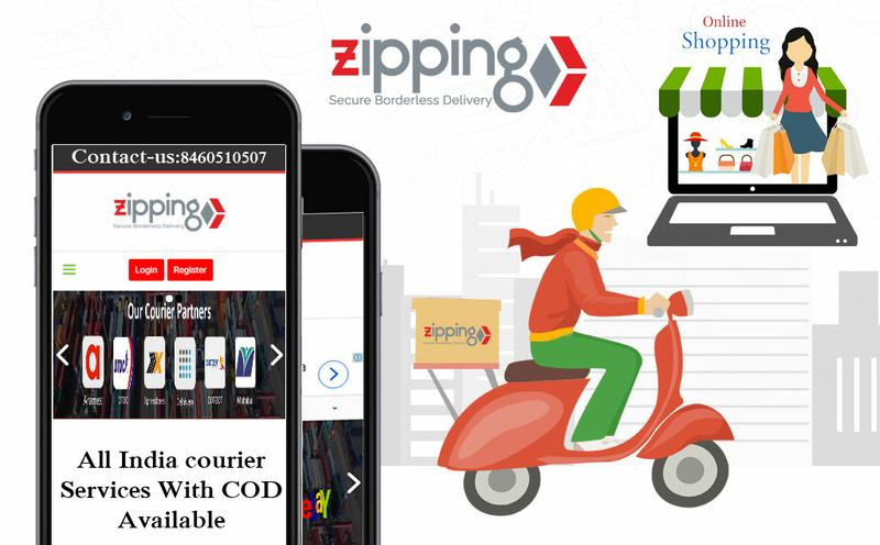 zipping logistics is give multiple courier company at one place