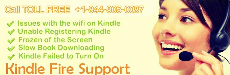 Kindle not Working? Get Amazon Kindle Support