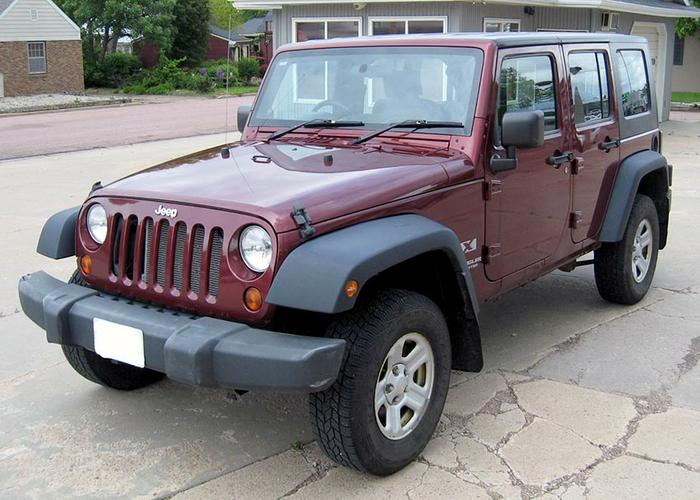 2009 Jeep Wrangler Unlimited (RHD) - Right Hand Drive