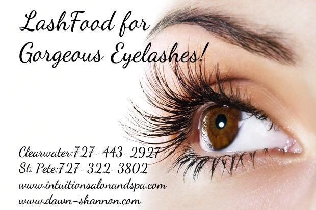 Lash Food for Your Eyelashes!