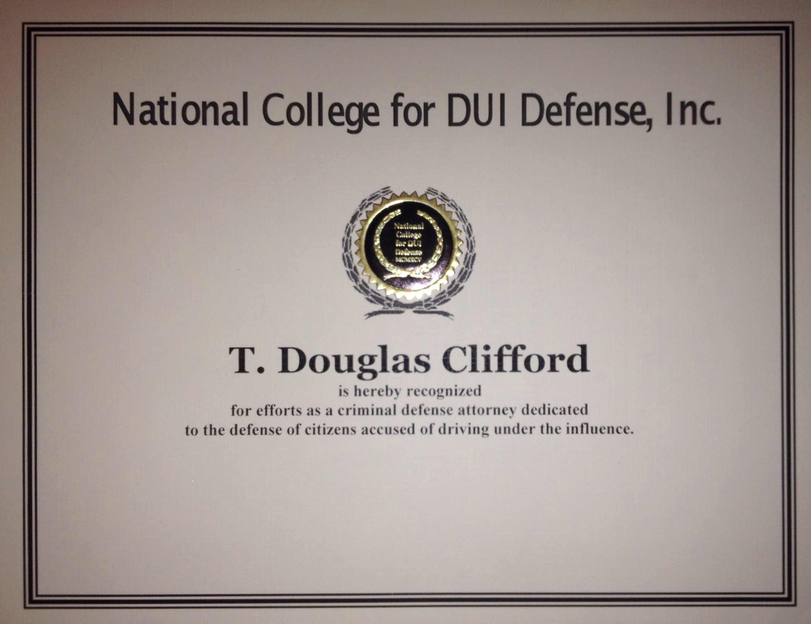 Law Offices of T. Douglas Clifford, LLC
