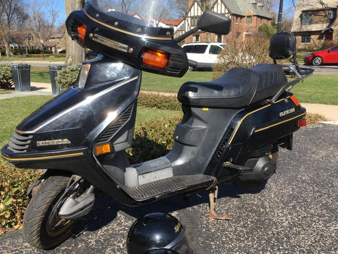 Honda Elite 250 Scooter - Fresh tune up & ready to fly!