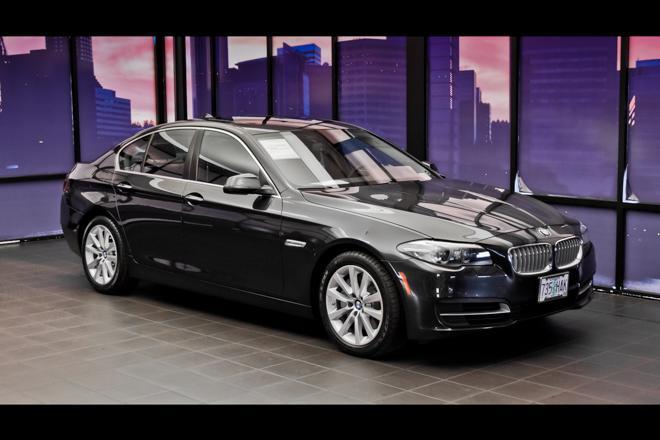 BMW 5 Series 550i xDrive 2014