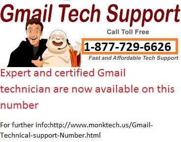 Now Gmail Tech Support Number Is Toll Free @1-877-729-6626