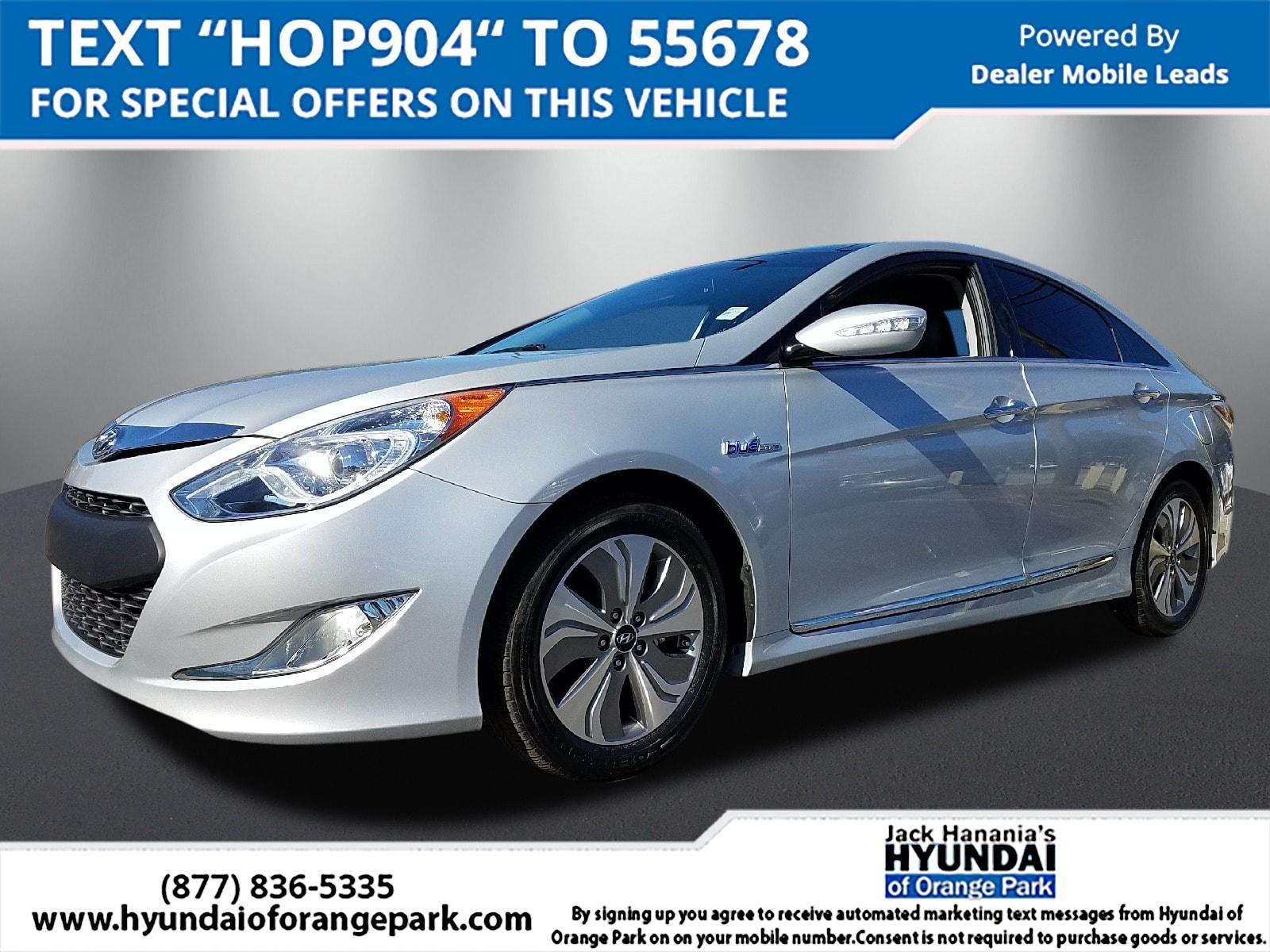 Hyundai Sonata Hybrid Limited 2015