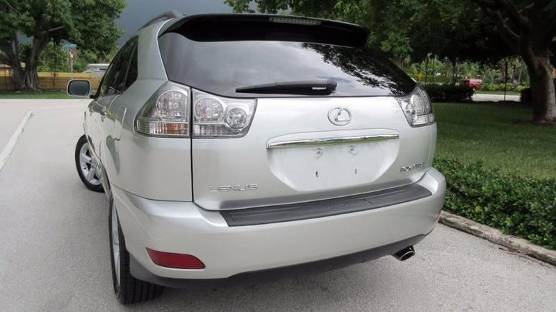 Silver 2008 Lexus RX 350 used