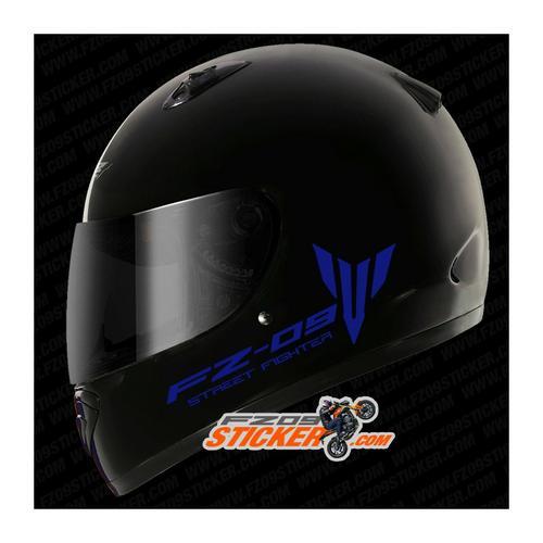 Yamaha FZ-09 Side helmet stickers