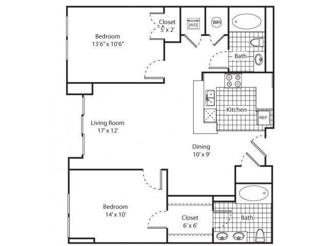 $1891 Two bedroom Apartment for rent
