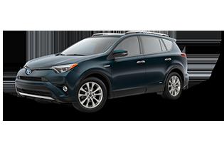 Toyota RAV4 Limited Hybrid 2018