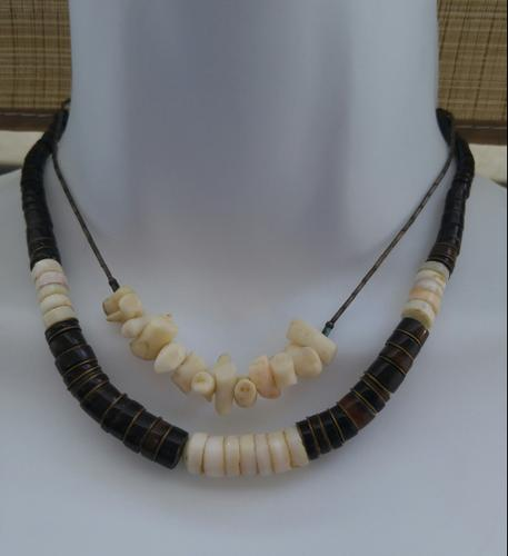 LOT OF 2 POOKA SHELL NECKLACES