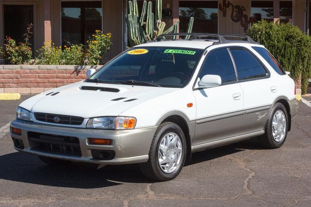 Subaru Impreza Wagon 4d Wagon 2000