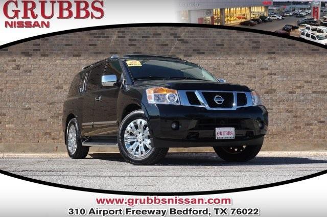 Nissan Armada Platinum 2015