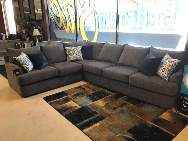 Brand New Large Grey Sectional Made In The USA  $1,299