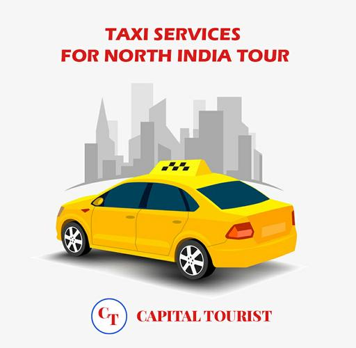 Taxi Packages for north India tour