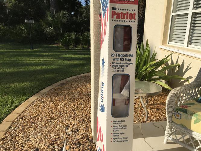American Flag pole kit