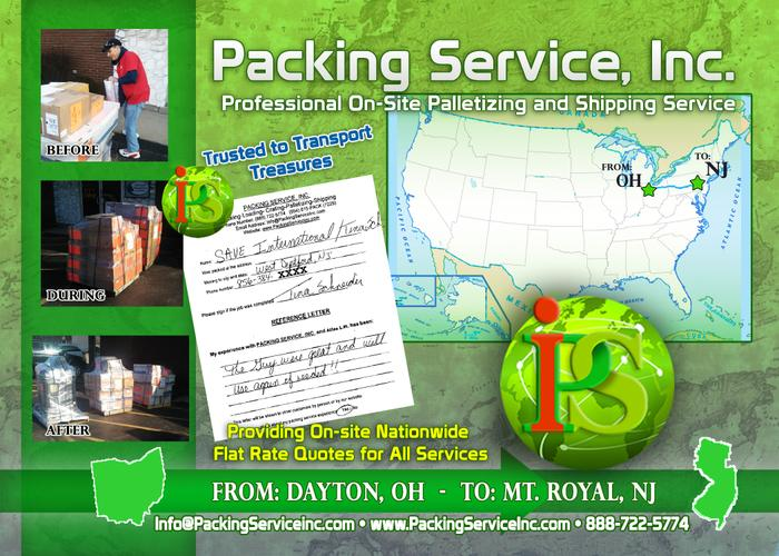 Packing Service, Inc.- Professional Packing, Pack and Crate & Domestic Shipping
