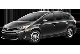 Toyota Prius v Prius v Three 2017