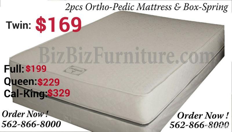 low price mattress set $169