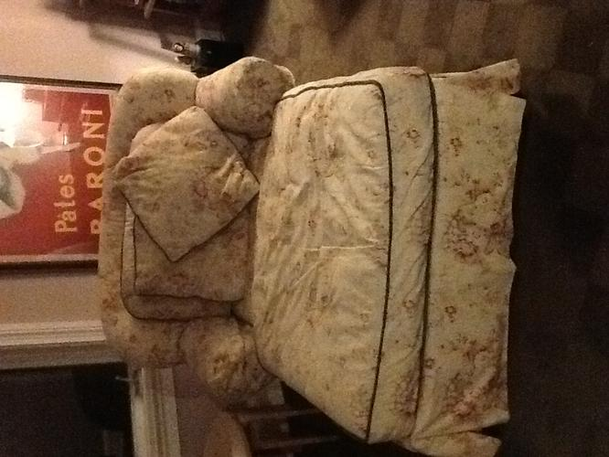 Overstuffed Chaise