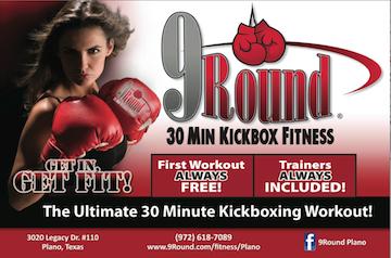 9Round Plano Kickboxing Fitness