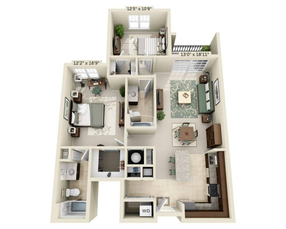 $2294 Two bedroom Apartment for rent