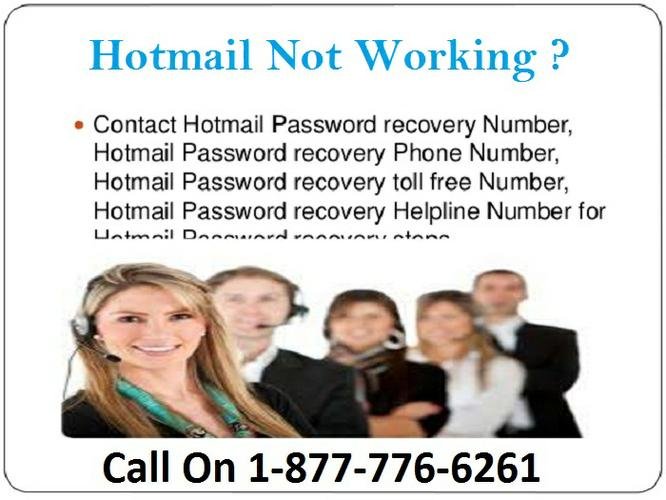 Hotmail not working Number 1-877-776-6261 alway's TollFree in USA