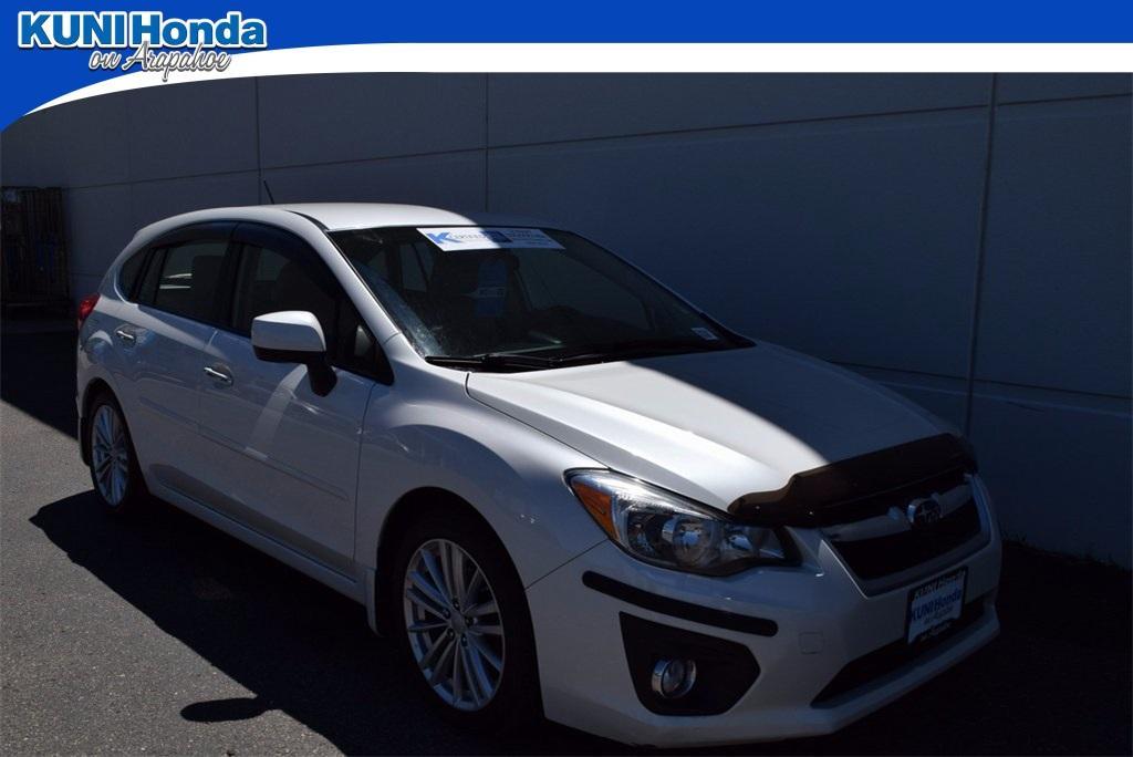 Subaru Impreza Wagon 2.0i Limited 2013