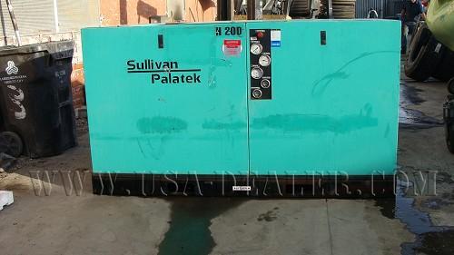 SULLIVAN PALATEK H20D AIR COMPRESSOR