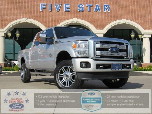 Ford Super Duty F-350 SRW Platinum 2016