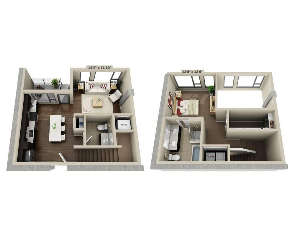 $4697 One bedroom Apartment for rent