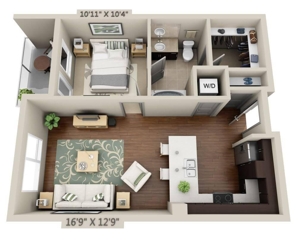 $2039 One bedroom Apartment for rent