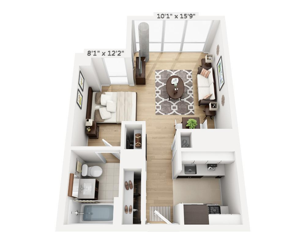 $3120 Studio Apartment for rent