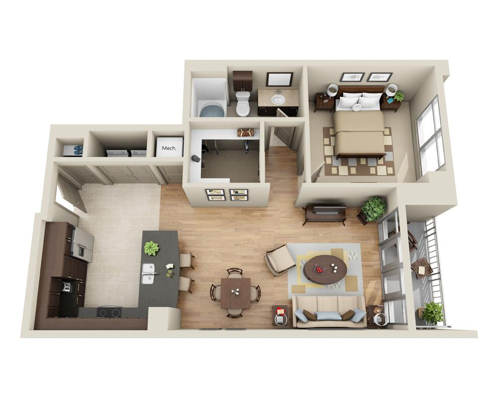 $2620 One bedroom Apartment for rent