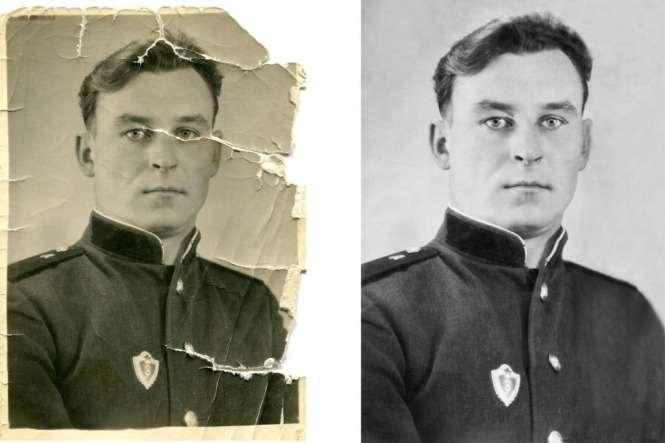 Photo Restoration - old damaged photos, low price, job well done