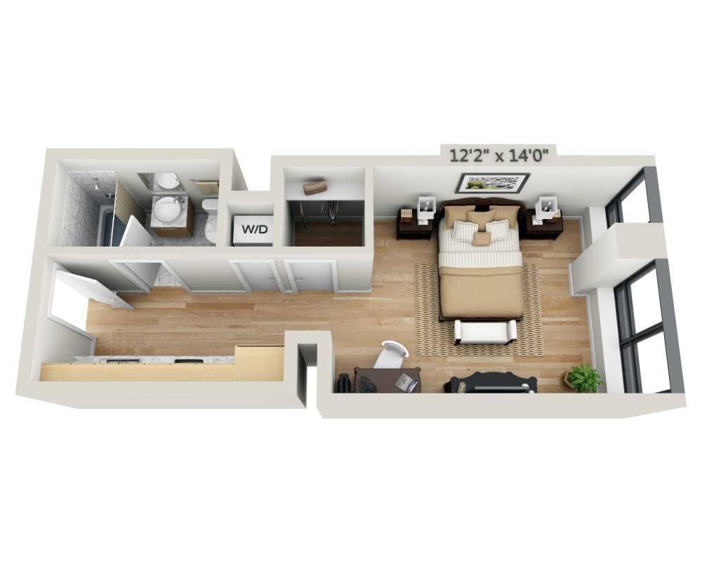 $2988 Studio Apartment for rent