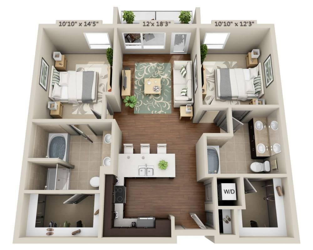 $2894 Two bedroom Apartment for rent