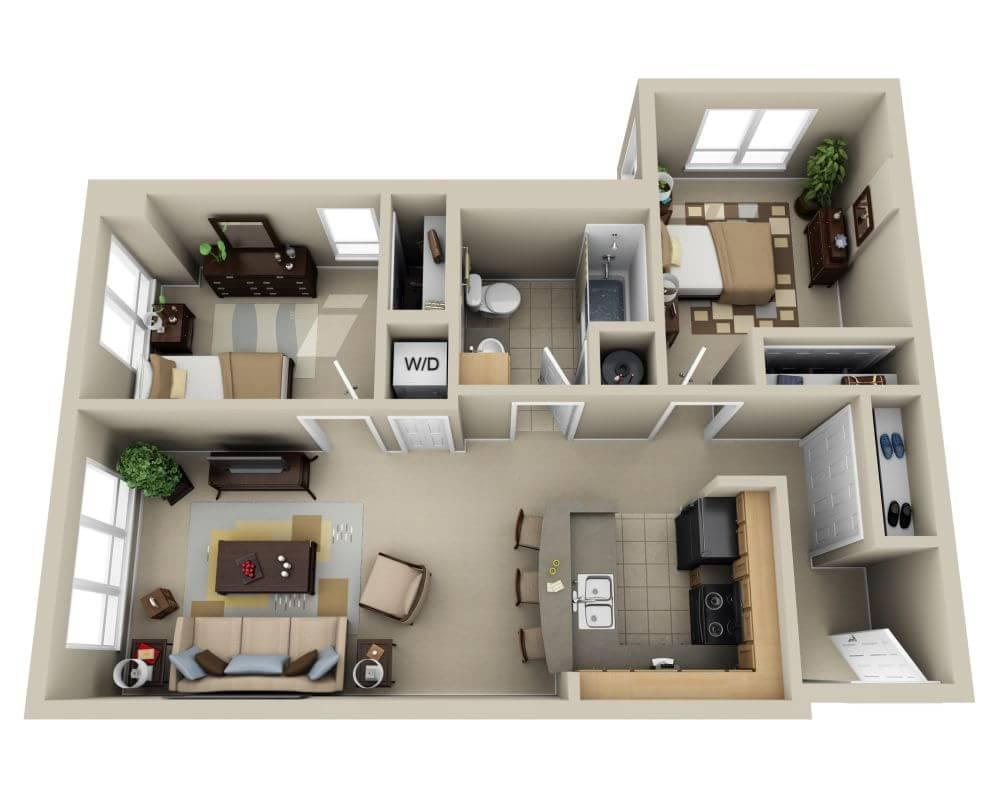 $2148 Two bedroom Apartment for rent