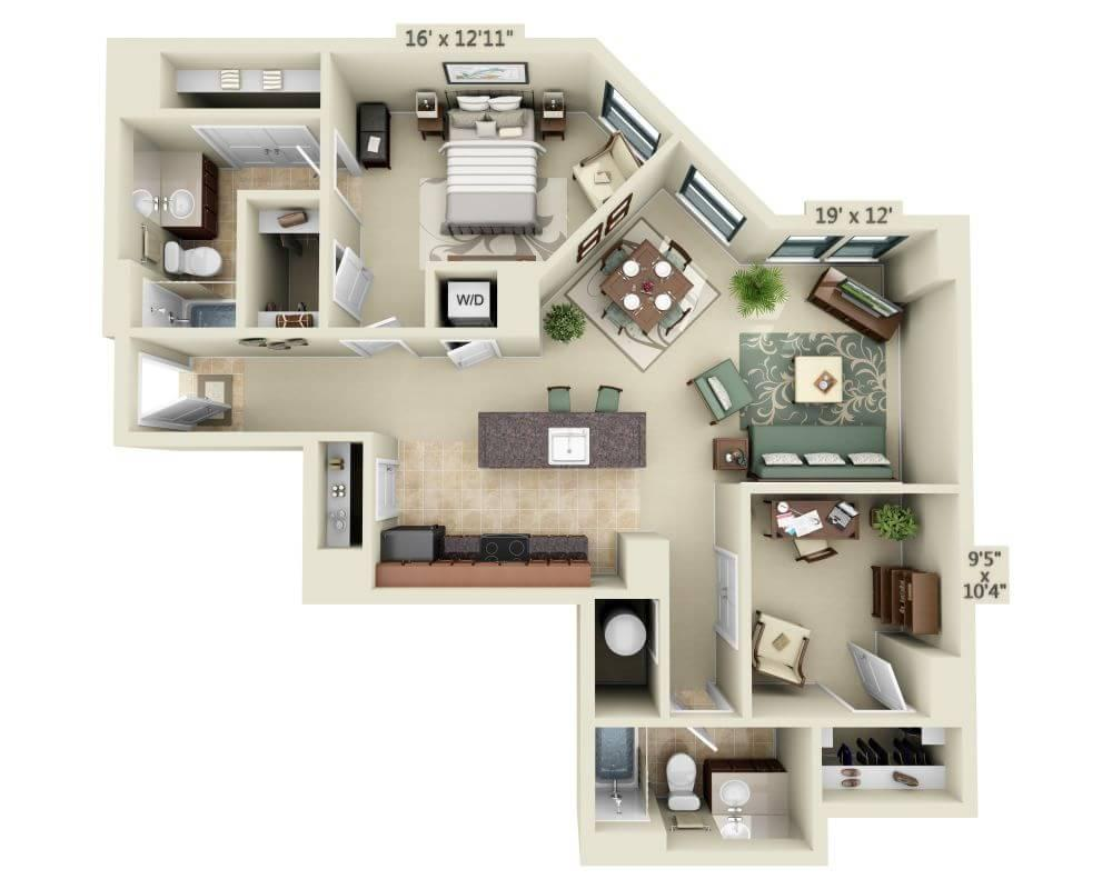 $2900 One bedroom Apartment for rent