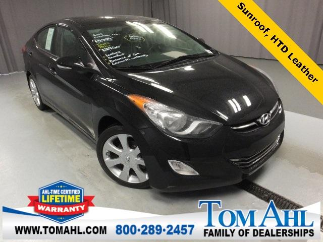 Hyundai Elantra Limited, Sunroof 2013