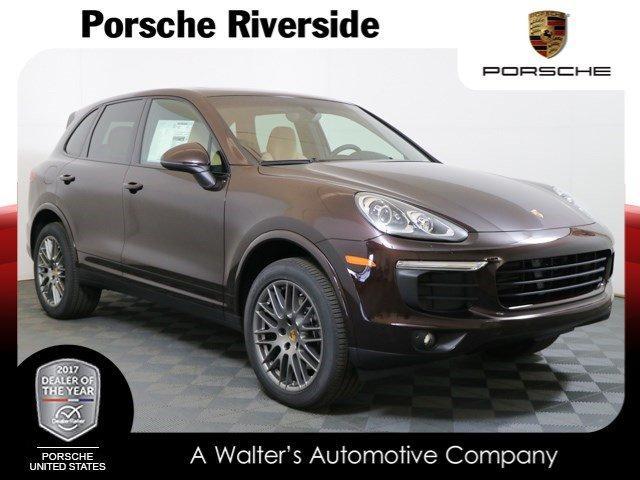 Porsche Cayenne Platinum Edition 2018