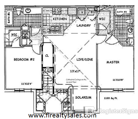 $1580 Two bedroom Apartment for rent